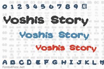 Yoshis Story Font