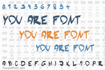 You Are Font Font