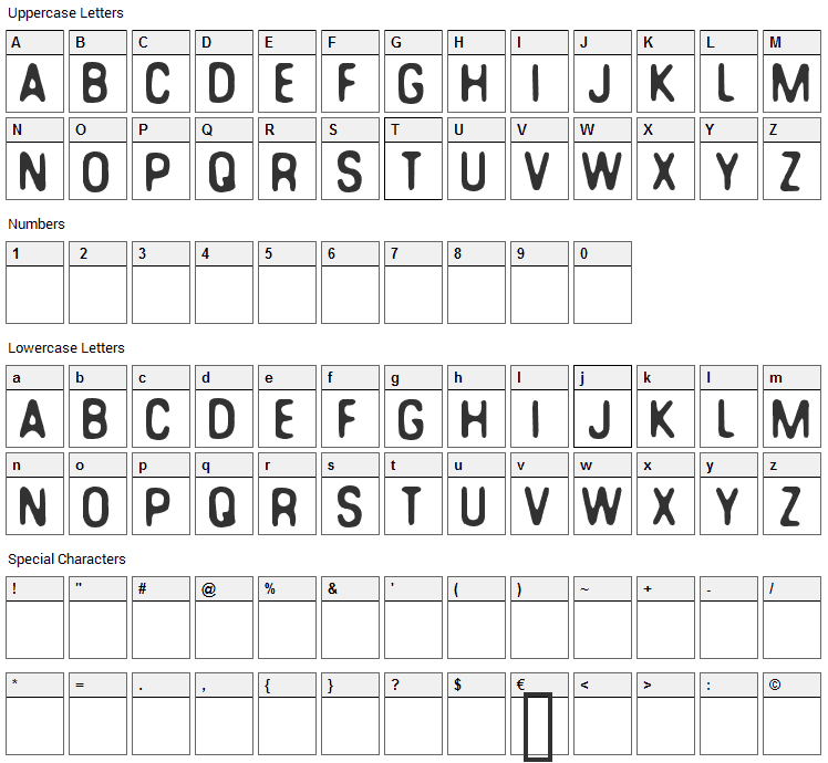 You can make your own font Font Character Map