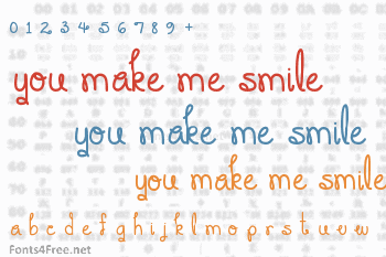 You Make Me Smile Font