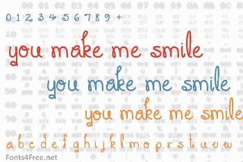 You Make Me Smile Font