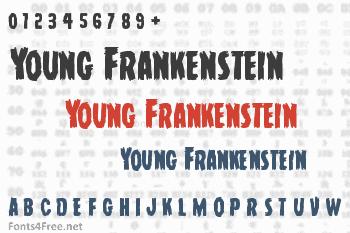 Young Frankenstein Font