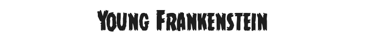 Young Frankenstein Font Preview