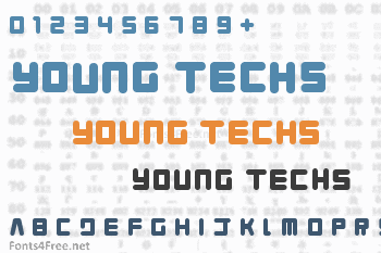 Young Techs Font
