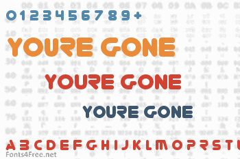 Youre Gone Font
