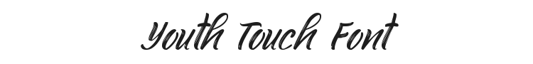 Youth Touch Font Preview