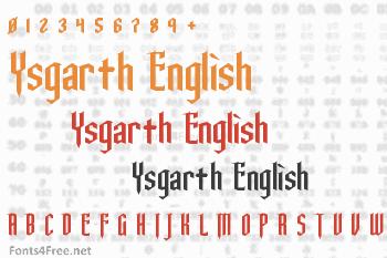 Ysgarth English Font