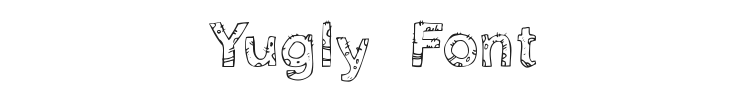 Yugly Font Preview