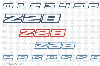 Z28 Font