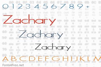 Zachary Font