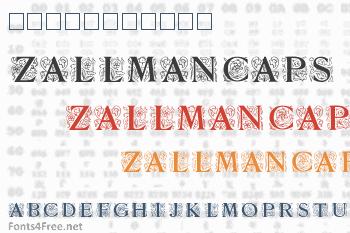 Zallman Caps Font