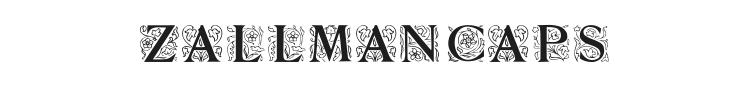 Zallman Caps Font Preview