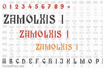Zamolxis I Font