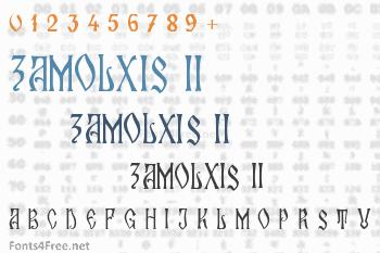 Zamolxis II Font