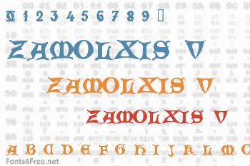 Zamolxis V Font