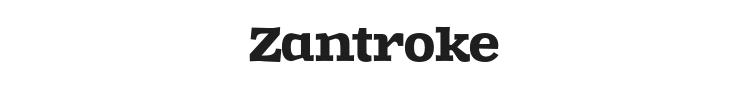 Zantroke Font