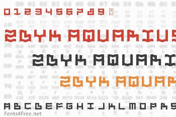 Zdyk Aquarius Font