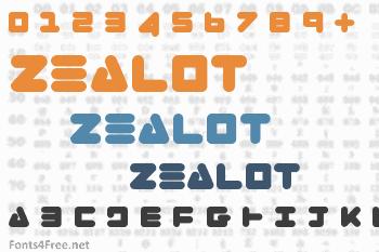 Zealot Font
