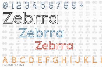 Zebrra Font