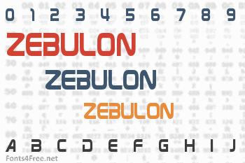 Zebulon Font
