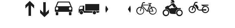 Zeichen Font