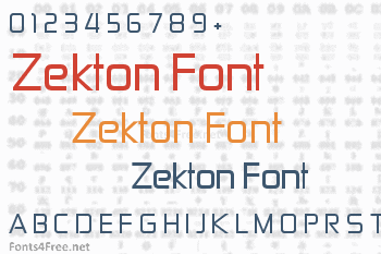 Zekton Font
