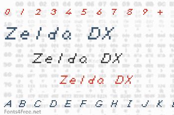 Zelda DX Font