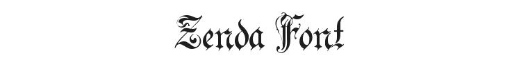Zenda Font Preview