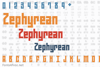 Zephyrean Font