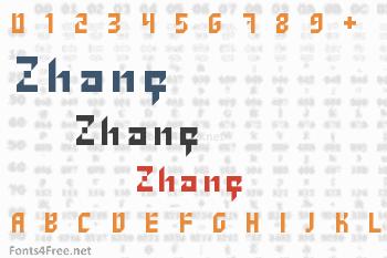 Zhang Font