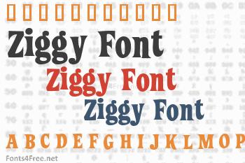 Ziggy Font