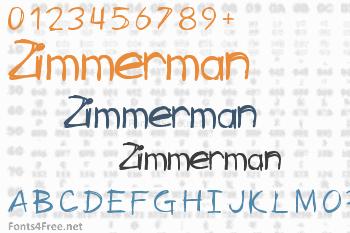 Zimmerman Font