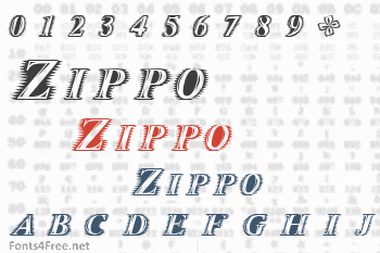 Zippo Font
