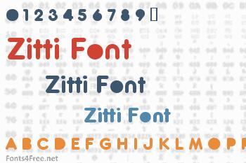 Zitti Font