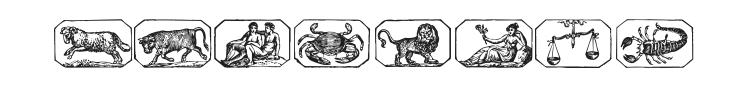 Zodiac 00 Font