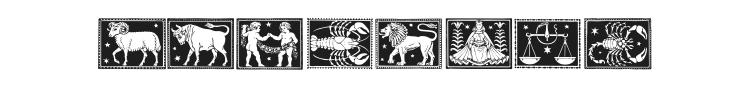 Zodiac 01 Font Preview