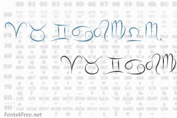 Zodiac Hellron Font