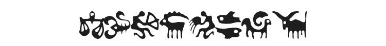 Zodiac Font Preview
