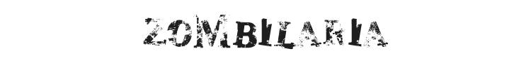 Zombilaria Font Preview