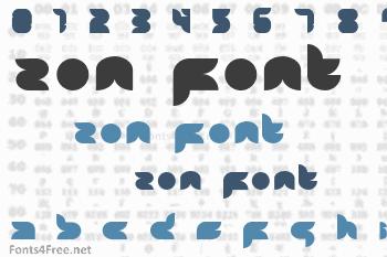 Zon Font