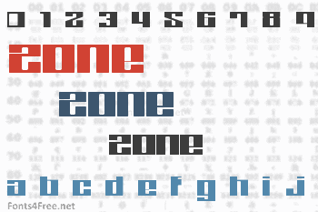 Zone Font