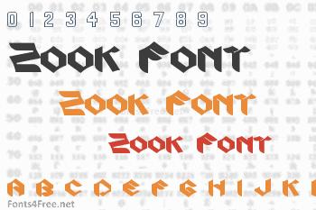 Zook Font