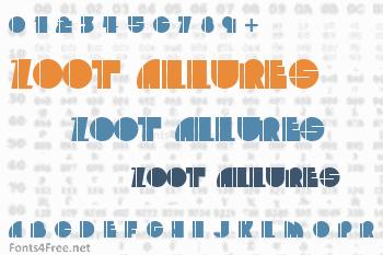 Zoot Allures Font