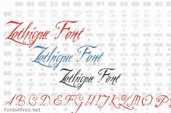 Zothique Font