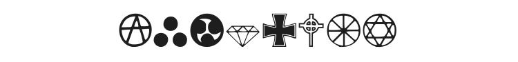 Zymbols Font Preview