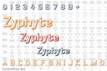 Zyphyte Font